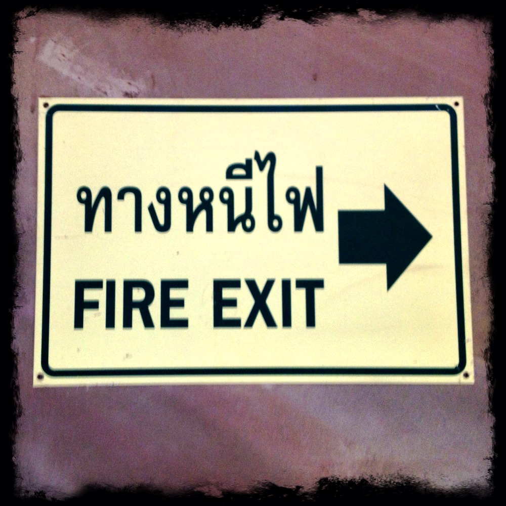 Thai Signs Fire Exit  Richard Barrow In Thailand. Work Stickers. Hand Nba Signs. Royal Flush Stickers. Damask Banners. Investor Logo. Crystal Stickers. Cargo Murals. Fancy Signs Of Stroke