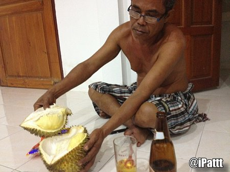Will eating durian and...