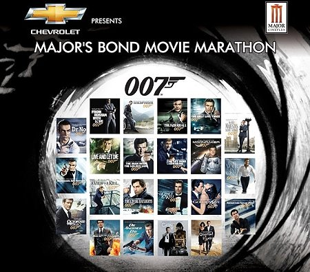 james bond movies in order