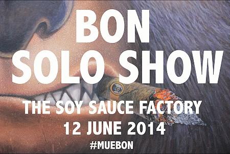 BON Solo Show 2014