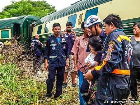Eastern & Oriental Express Train Derails in Thailand
