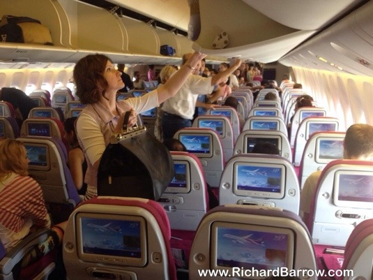 How to Charge Your Phone on THAI Airways Flights