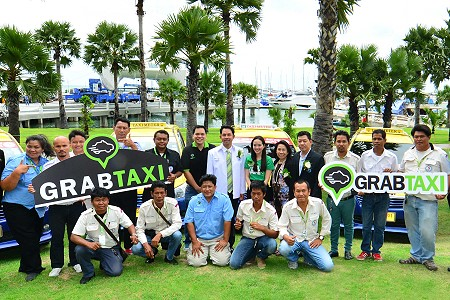 GrabTaxi Launches their Mobile App in Pattaya City