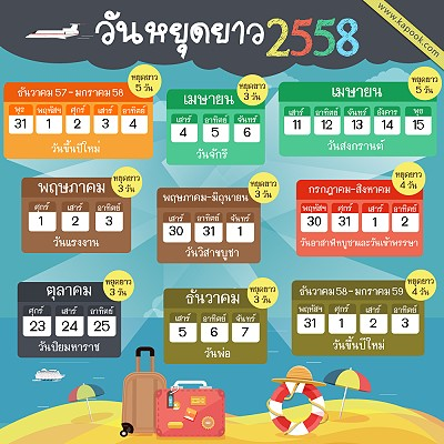Extra Holiday for the New Year in Thailand