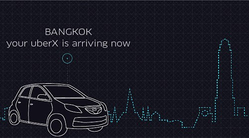 UberX is Now in Bangkok and Cheaper than Taxis