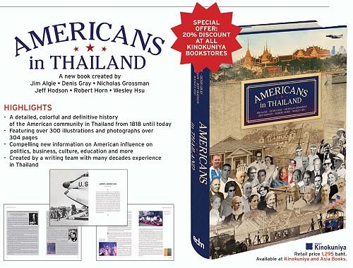 "New Book: ""Americans in Thailand"""