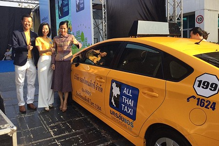 """First Look at """"All Thai Taxi"""" Launching in May 2015"""