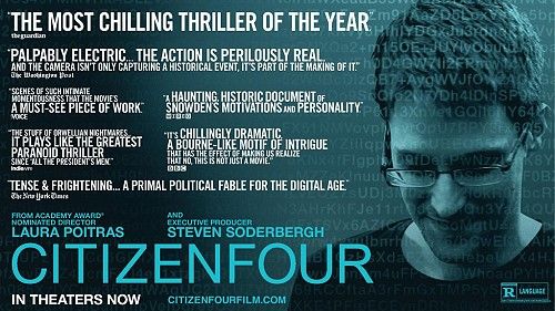 Screening of Citizenfour at FCCT Bangkok on Wednesday at 2pm