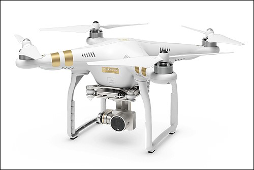 Phantom 3 Quadcopter lands in Thailand in early May 2015