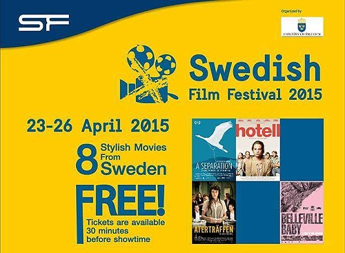 4th Swedish Film Festival from 23-26 April 2015