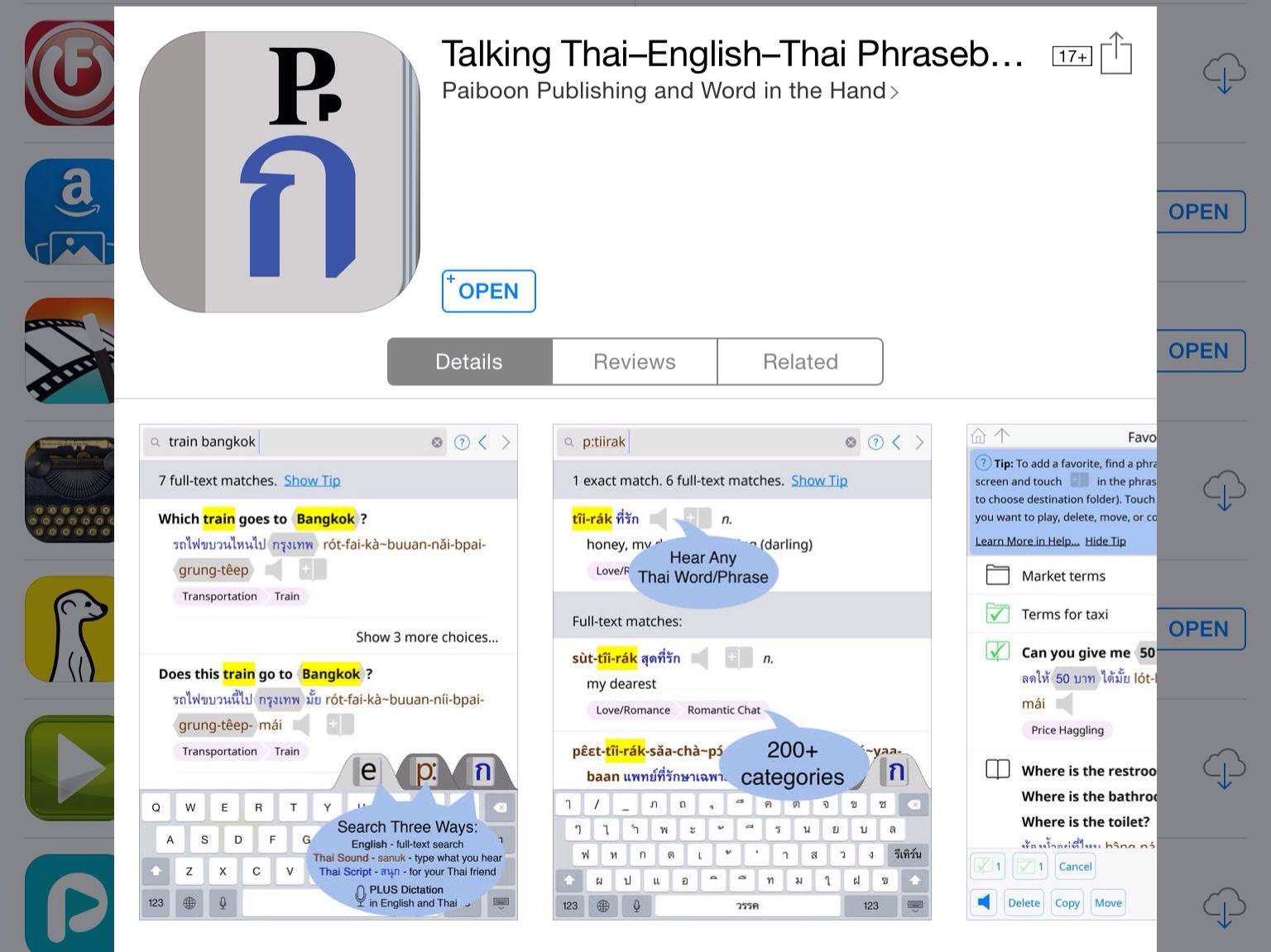Talking Thai–English–Thai Phrasebook