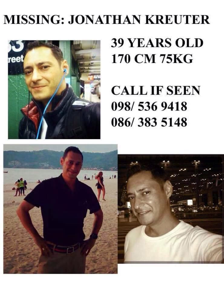 MISSING: Have you seen this man in Bangkok?