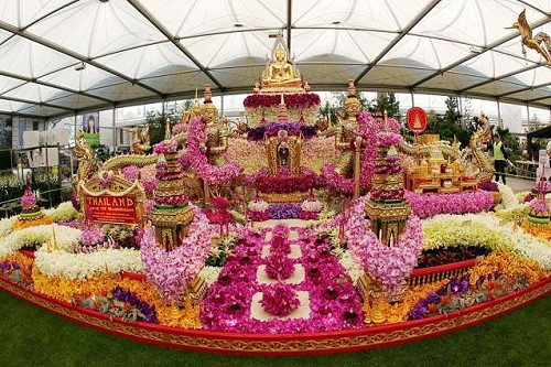 Thailand wins gold again at the Chelsea Flower Show 2015