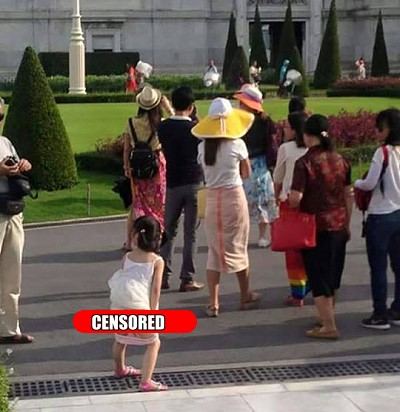 How not to behave in Thailand