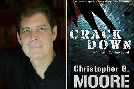 "Christopher G. Moore on Vincent Calvino and his latest book ""Crackdown"""