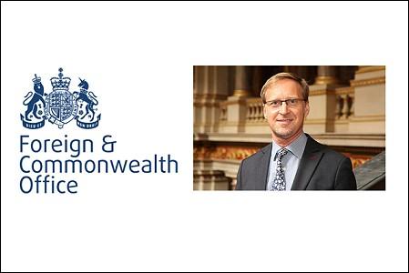 Brian Davidson named as next British Ambassador to Thailand