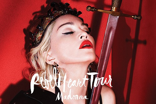 Madonna's Rebel Heart Tour in Thailand on 9 February 2016