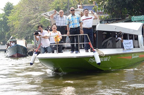 New boat service on Khlong Phasi Charoen next month