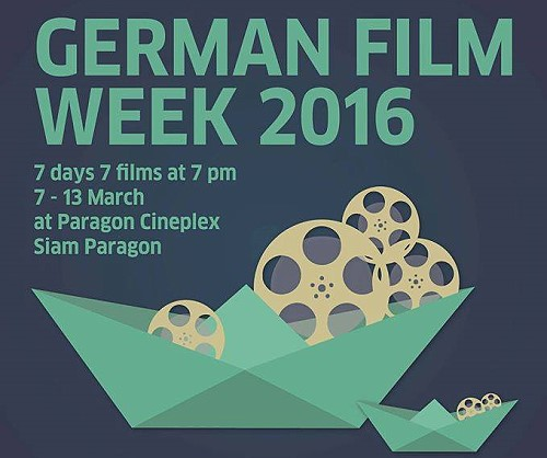 German Film Week 2016 in Bangkok