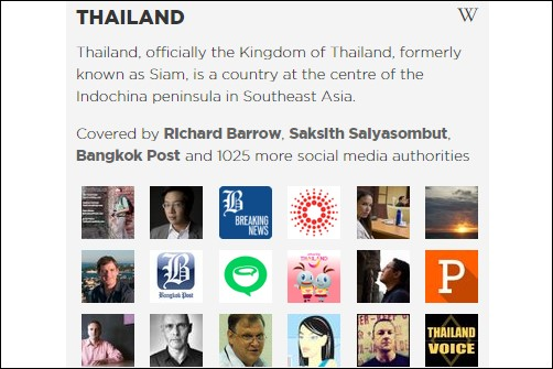 Discover Top Thailand Authorities on Twitter