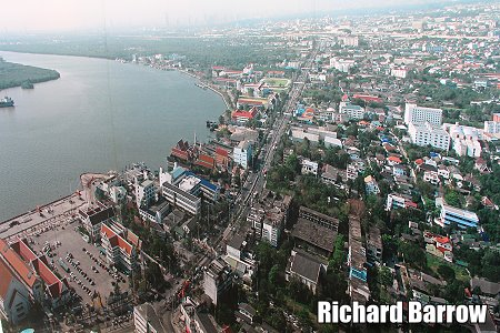 Views from the 179 Meter High Tower in Samut Prakan – Richard Barrow